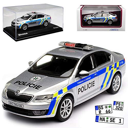 bester der welt Abrex Skoda Octavia III Limousinenpolizei Polizei Typ 5E von 2012 026XX 1/43 Modellauto 2021