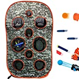 wishery Kids Large Target Compatible with Nerf Guns Mega, Fortnite, Rival, N-Strike Elite Series, Ball Guns. Outdoor Shooting Practice with net. Party, War Games, Gift, Toys for Boys & Girls