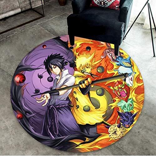 WHFDZJT Tapis Anime Dragon Ball Z Naruto Tapis De Porte Tapis Sol Chambre Paillasson Tapis Antidérapant pour 120Cm