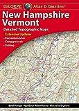 Delorme New Hampshire/Vermont Atlas & Gazetteer (Delorme Atlas & Gazetteer)