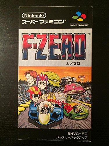 F-Zero (Japanese Language Version) Import Super Famicom