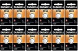 You Will Receive 12 Single Packs Size: Duracell 2016 Button Batteries Expiration: Button Batteries Are Fresh Lithium 3.0 Volt Batteries