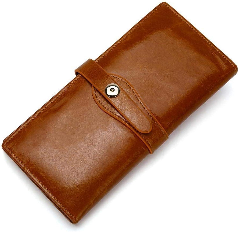 Girls Purse Retro Lady's Wallet LargeCapacity Female PU Leather Wallet Purse