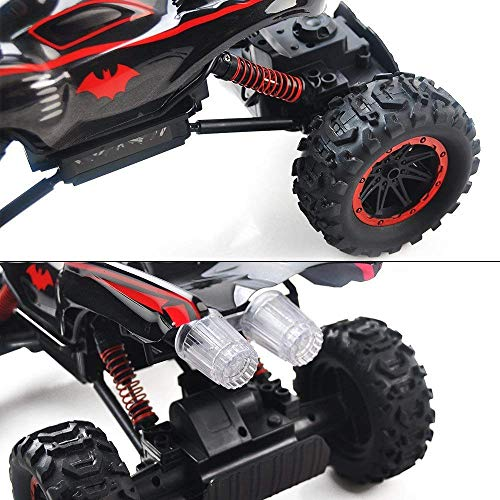 RC Auto kaufen Crawler Bild 6: RC Car Off Road 2 4GHz RC Trucks 1 14 4WD High Speed Electric Remote Control Racing Cars Drift SUV Red by Crazepony UK*