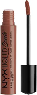 NYX Professional Makeup Liquid Suede Cream Lipstick, Sandstorm, 0.13 Fluid Ounce