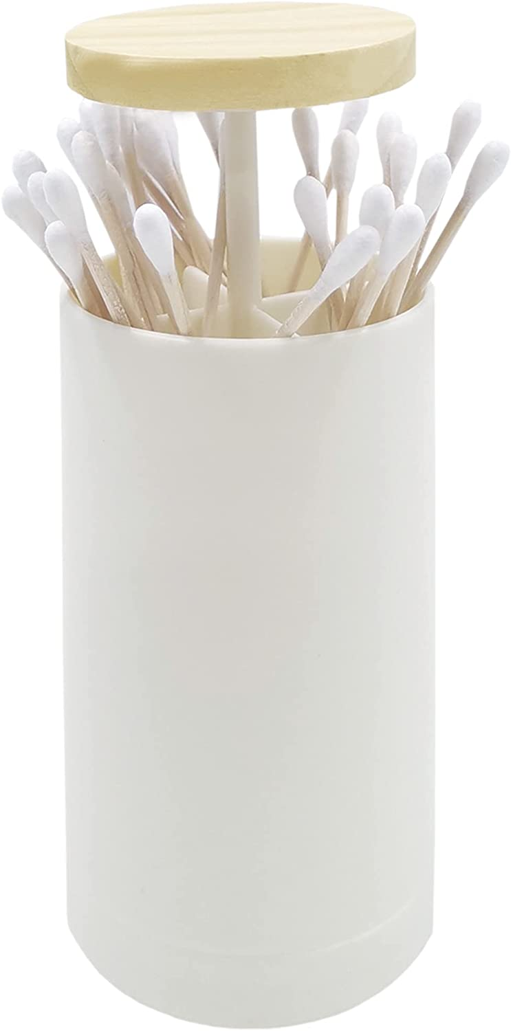 Baltimore Mall Beige Pop-up Cotton Swabs Toothpick Sta Holder Holders Ranking TOP6