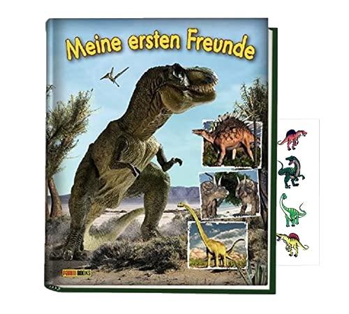 Panini Dinosaurier Kindergartenfreundebuch: Meine ersten Freunde (gebundene Ausgabe) + 1 Dino-Stickerbogen