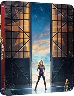 Captain Marvel – Edición limitada Steelbook [4K UHD + Blu-ray]