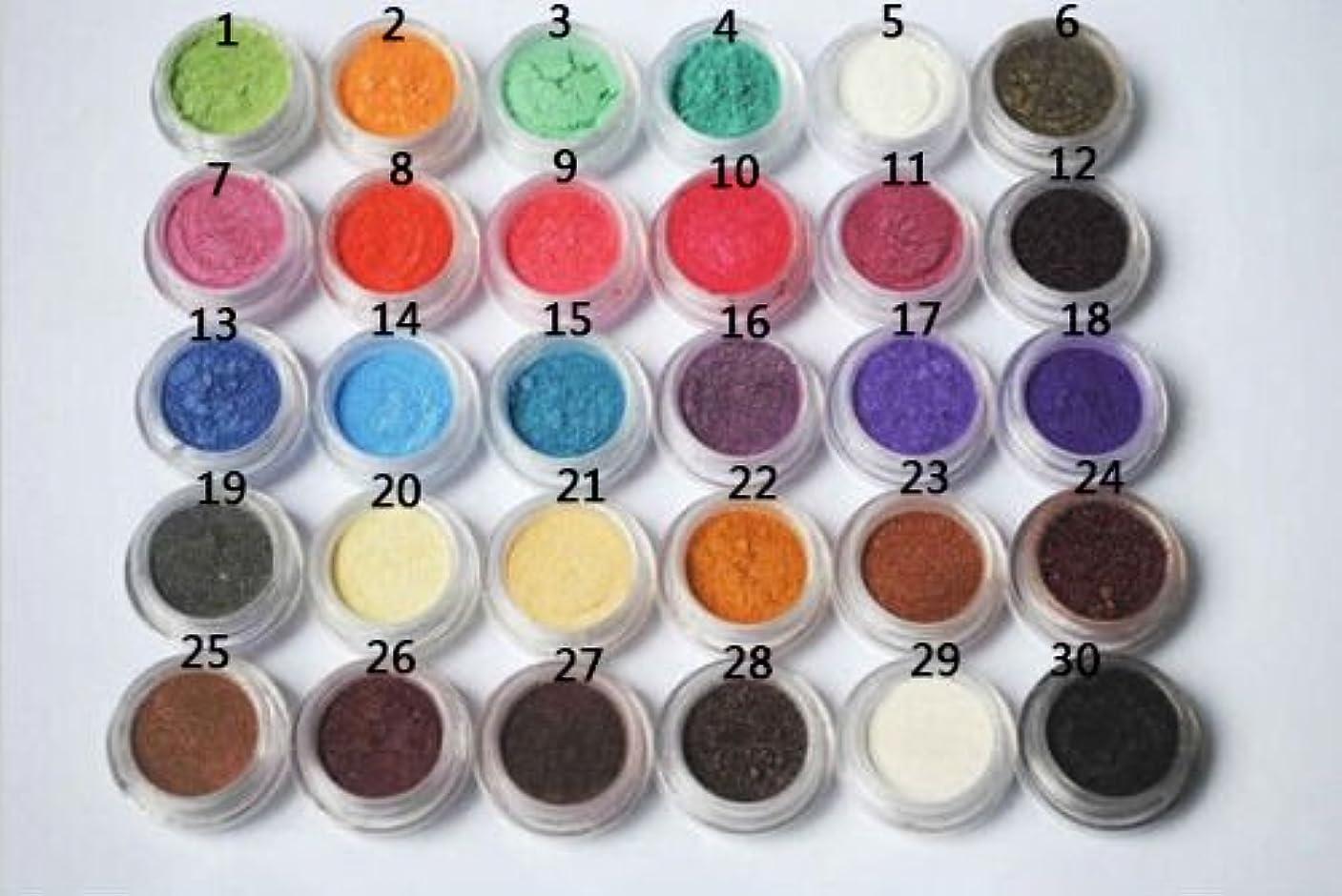 ルネッサンス蚊リファインFidgetGear ホット30色ミックスアイシャドーメイクアップパウダーピグメントミネラルアイシャドウ30ピース/セット