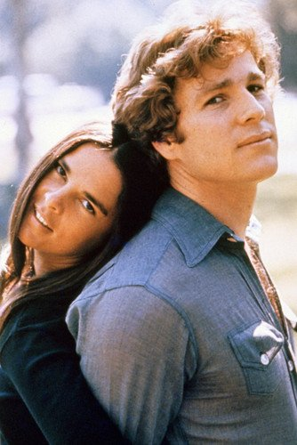 Moviestore Ali MacGraw als Jenny Cavalleri unt Ryan O'Neal als Oliver Barrett IV in Love Story 91x60cm Farb-Posterdruck