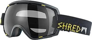 SHRED Stupefy Walnuts + Bonus Lens Goggles, Black