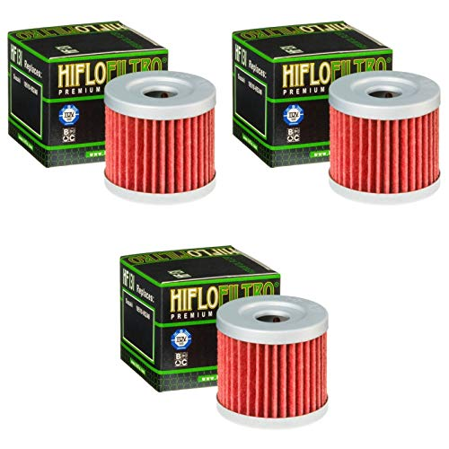 Hiflo 3x Ölfilter Supermoto 125 DD 2008-2015 HF131