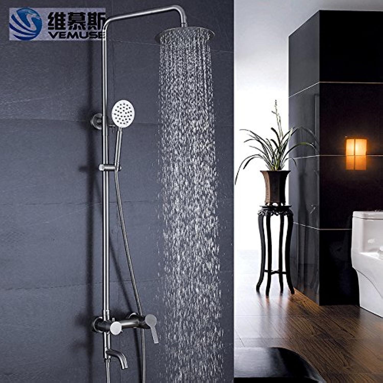 Edelstahl dusche Dusche 304 Edelstahl Edelstahl Regen das Wasser unter Druck, v 1003