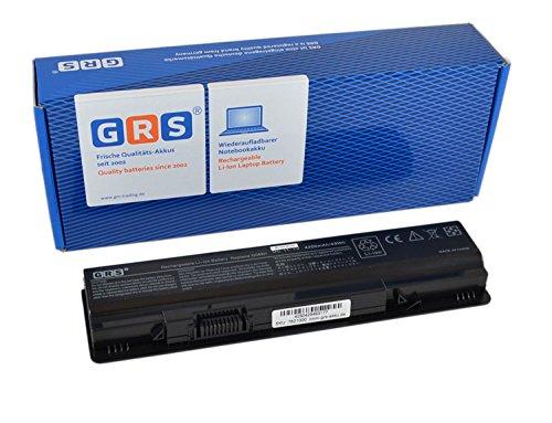 GRS Akku für Dell Vostro A840, A860, A860n, G069H, 1014, 1015, 1088, ersetzt: F287H, G069H, 312-0818, 451-10673, F286H, F287F, R988H, Laptop Batterie 4400mAh, 11.1V