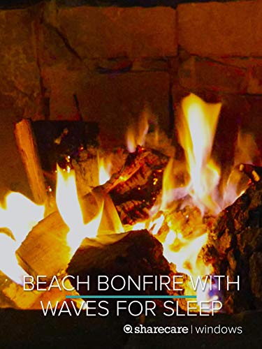 Relaxing Beach Campfire 8 hours