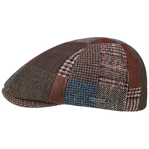 Stetson Gorra Carlado Patchwork Hombre - Made in The EU de Lana...