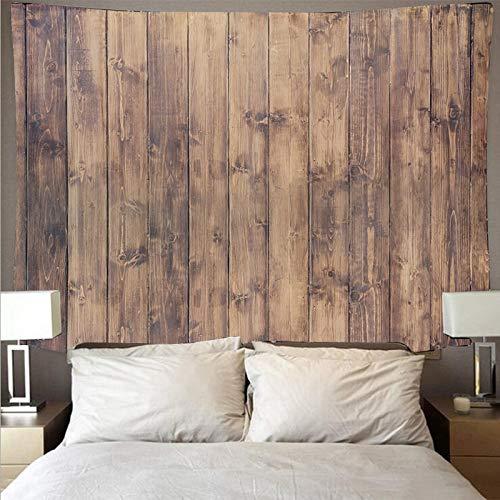 Retro tablón de madera textura arte tapiz psicodélico colgante de pared decoración de toalla de playa manta fina tapiz tela de fondo A1 73x95cm