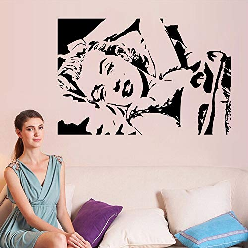 Ajcwhml Klassische Vinyltapete Mädchen Schlafzimmer dekorative Wandaufkleber Kinderzimmer Wandkunst Dekoration