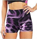 ArcherWlh Leggings Push Up Mujer De Vestir,2021 Verano Nuevo Leopardo Serpentina Multicolor Impreso Hip Yoga Shorts Pantalones Deportivos Fitness Pantalones-Leopardo_L