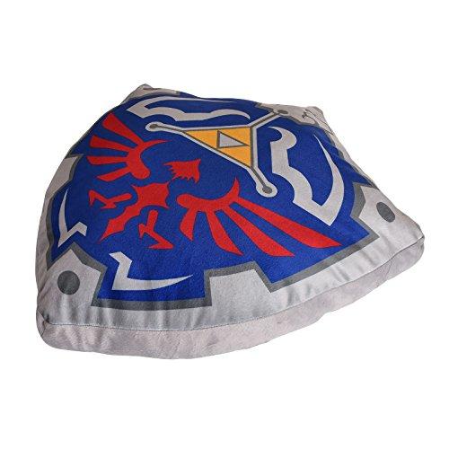 Zelda Cushion Hylia Shield 57x57cm Nintendo Elbenwald Gris Azul