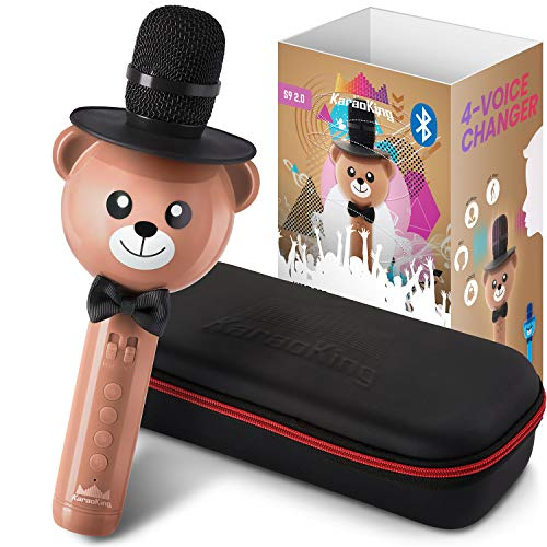 KaraoKing Karaoke Microphone for Kids -...