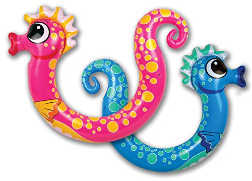 Poolmaster Swimming Pool Noodle Float, Seahorse, 2 Pack