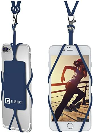 Gear Beast Universal Cell Phone Lanyard Compatible with iPhone Galaxy Most Smartphones Includes product image