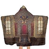 ZHSL Toalla con capucha para niños Gótico, trono de palacio medieval Toalla de baño para bebé grande Ultra suave, altamente absorbente 51.5x31.8 pulgadas