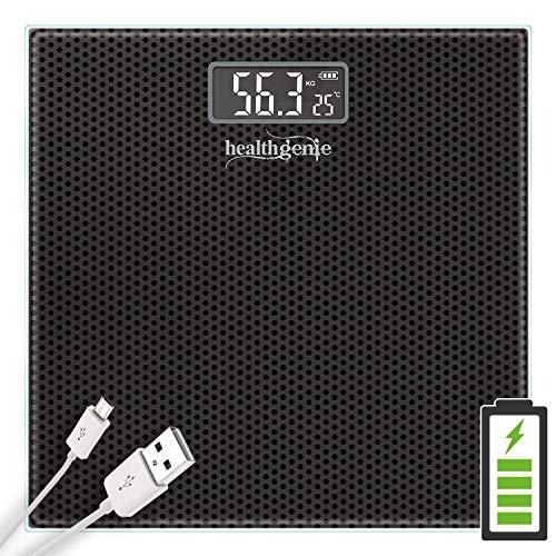 Healthgenie Digital Weight Machine, Weighing Machine For Human Body Digital Weighing Scale, With USB Charging & 1 Year Warranty...