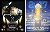 Clemson Tigers 2017 and 2019 College Football Playoff...