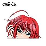 WAXY High School Time Skip 206 Mignon Merde Anime Fille Vinyle fenêtre Stickers Kikuchi Voiture Autocollants