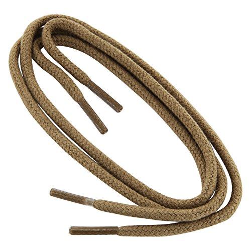 Collonil Kordel Durable 60 cm Beige Cordones De Zapato Redondo Grueso