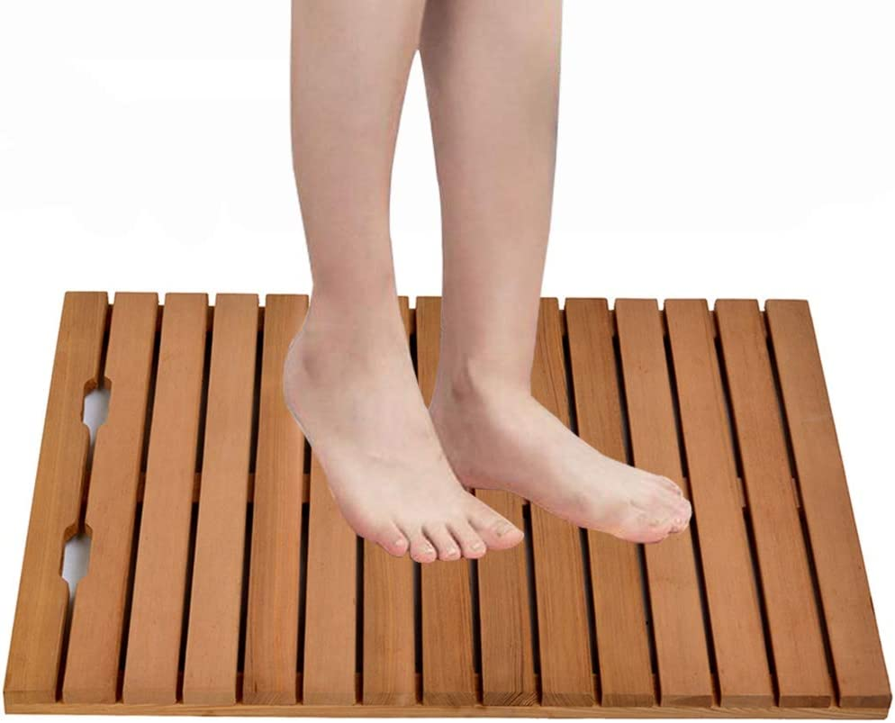 XXIOJUN Bamboo Floor Mat Waterproof Glitch-Free National products Strong Non-Slip OFFicial shop