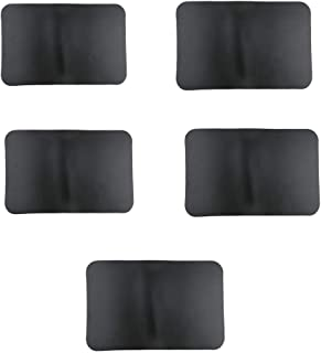 YiMusic 5 Pieces 0.9mm Waterproof PVC Boat Repair Patch Suit for Inflatable Kayak Boat Rubber Dinghy Repair Accessories