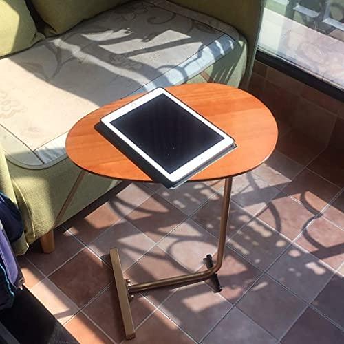 Escritorio de computadora Mesa Auxiliar de Cama de Estilo nórdico Minimalista/Mesa de sofá/Escritorio de Trabajo 45x35x60cm