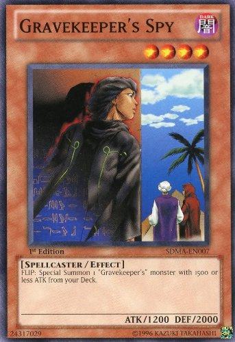Yu-Gi-Oh! - Gravekeeper's Spy (SDMA-EN007) - Structure Deck: Marik - 1st Edition - Common by Yu-Gi-Oh!