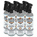 Ranger Ready Alcohol Hand Sanitizer, Trigger Spray, 8 Fl Ounce (Pack of 6)