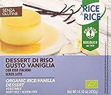 Rice&Rice Postre Crema De Arroz Y Vainilla Bio 4 X 100 Gr Si Postre 400 g
