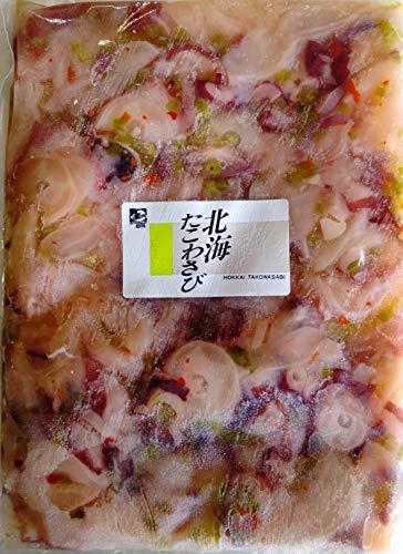 国産 北海道 北海 たこわさび 500g×20P タコ山葵 ワサビ 冷凍 業務用