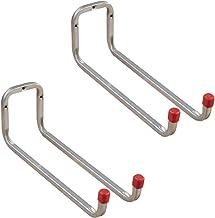 Gedotec Gereedschaphouder metalen ladderhaken muurhaak garage - DUO | verzinkt staal | dubbele haken lang | diepte: 325 mm...