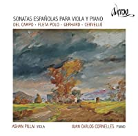 Del Campo, Fleta Polo, Gerhard & Cervell?: Spanish Sonatas for Viola and Piano by Juan Carlos Cornelles