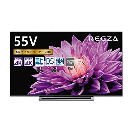 東芝 55型地上・BS・110度CSデジタル4Kチューナー内蔵 LED液晶テレビ(別売USB HDD録画対応)REGZA 55M540X