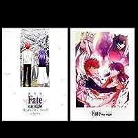 未読劇場版 Fate stay night Heaven's Feel 第3章 7週目 8週目 入場者特典 桜パンフレット 記念ボード 2種セット