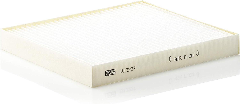 pour v/éhicules particuliers MANN-FILTER CU 2227 Filtre dhabitacle