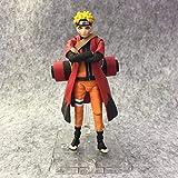 ZRY Modo Sabio Figura de acción de Naruto Uzumaki Naruto móvil Modelo Hecho a Mano Regalo Popular de Las Decoraciones de Juguetes de Naruto Manga Ordenadores muñeca Adornos