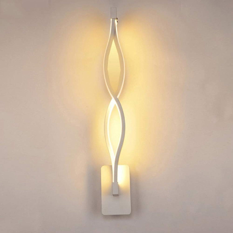 Moderne minimalistische Wandlampe Wohnzimmer Schlafzimmer Nachttisch 16W AC96V-260V LED Wandlampe schwarz weie Lampe Gangbeleuchtung