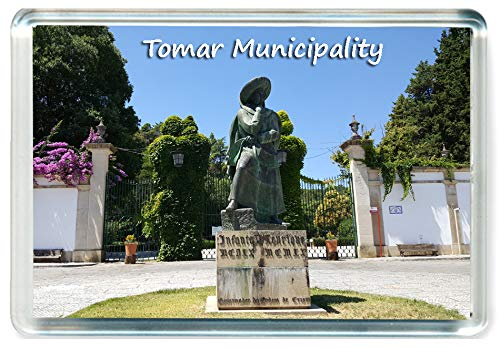 DreamGirl I389 Tomar Municipality Jumbo Imán para Nevera Portugal Travel Fridge Magnet