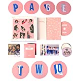 TWICE 2nd Mini Album - PAGE TWO [ Pink Ver. ] CD + Photobook + Garland + Lenticular Card + Photocard + FREE GIFT / K-pop Sealed