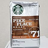 StarbucksPIKE PLACE ROAST スターバックス パイクプレイスロースト Medium Roast Ground Coffee ミディアム レギュラー(粉) (793g)