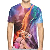 Tskention Ty Dolla Sign Vintage Men's Sport Short Sleeve T-Shirt Cotton White Xx-Large Gifts